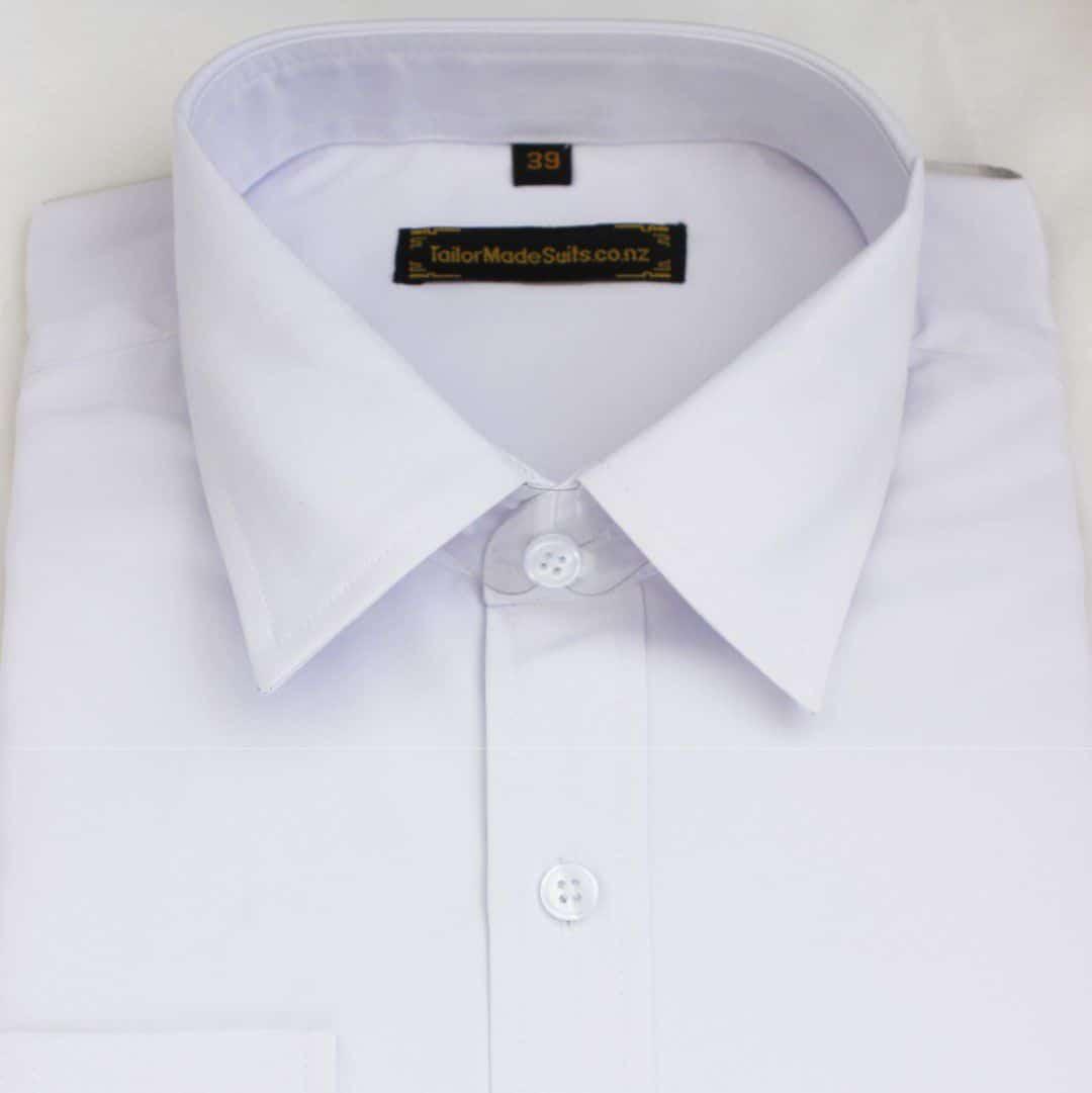 Plain White shirt – Ready to wear
