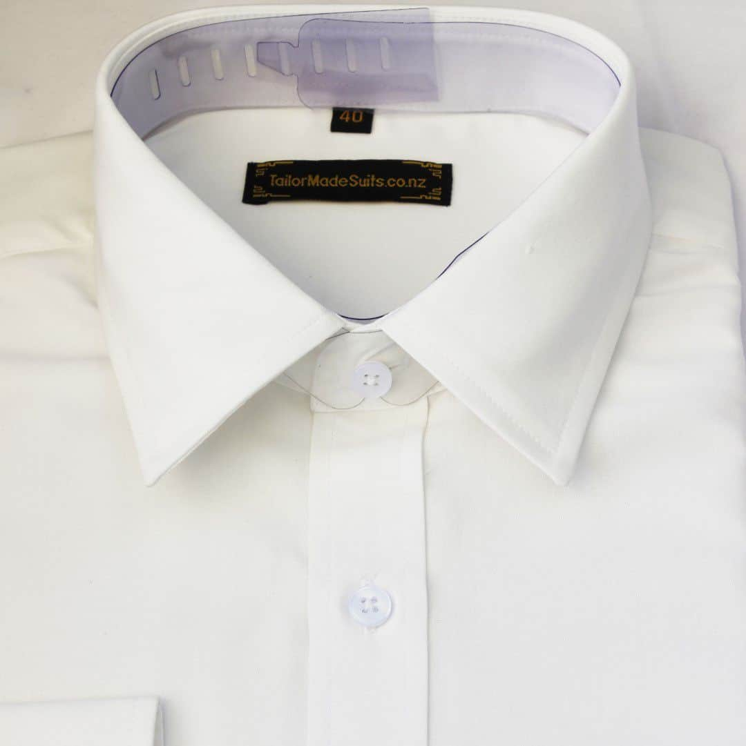 Plain Cream White shirt – Ready to wear