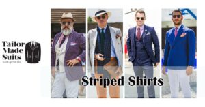 striped shirt TMS tailor made suit