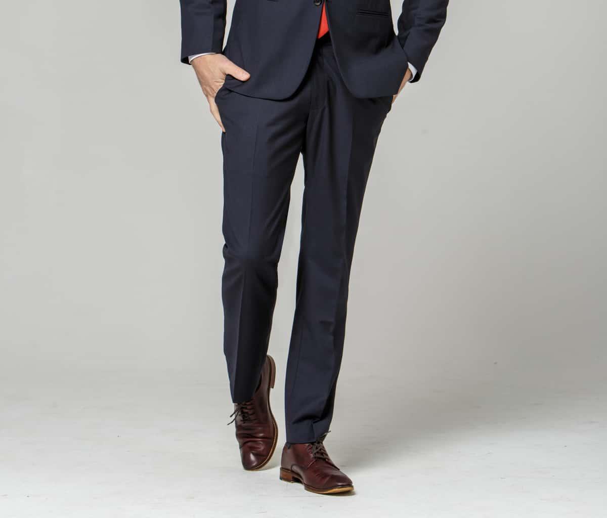 Dark Navy Trousers – Ready to Wear