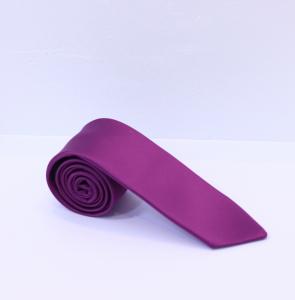 Fellini Plain Pinky Purple Tie