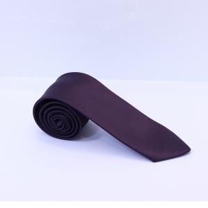 Fellini Matt Raisin Purple Tie