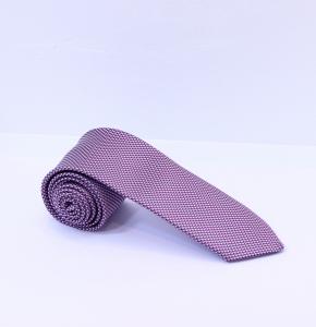 Fellini Purple Bird's Eye Patterned Tie