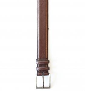 Parisian Leather Dark Brown Belt – Waist 92-99cm
