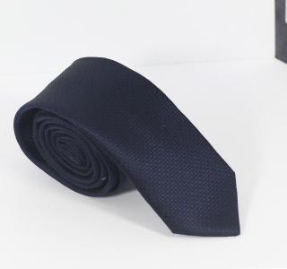Plain Dark Navy Tie