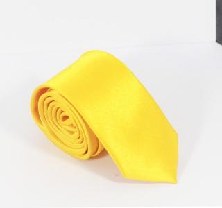 Plain Yellow Tie